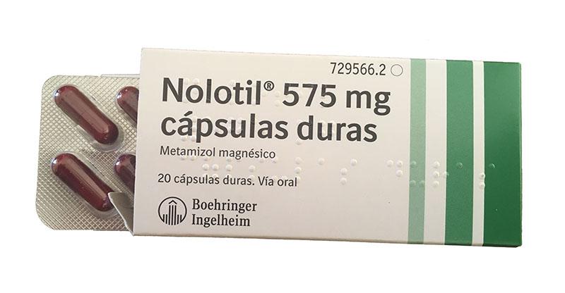 Nolotil Efectos Secundarios En El Tratamiento